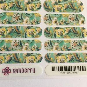 Jamberry Makeup - New Jamberry Nail Wraps Zen Garden Full Sheet